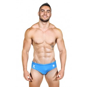 mykonos swim brief blue