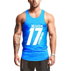 8th EDITION BLUE TANK TOP